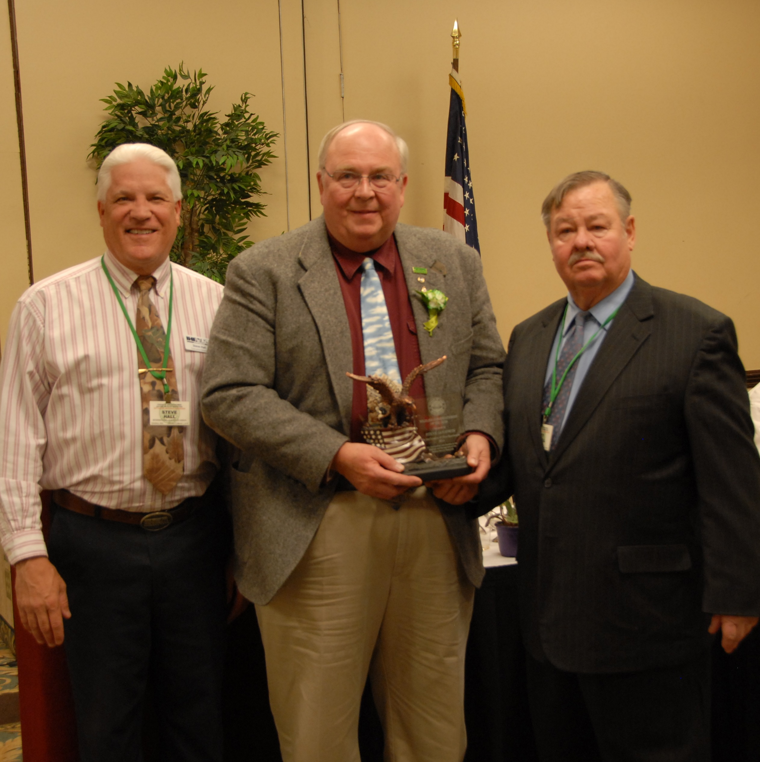 Steve Goodwin recognized with Wildlife Conservationist Award