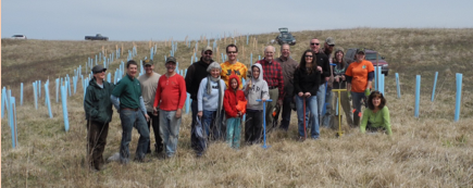 5th Annual AOA Tree Planting - EarthTouch Preserve
